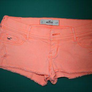 Hollister Shorts - Bright Orange - Size 5